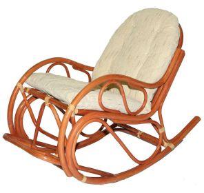 Кресло-качалка с подставкой