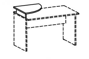 Надставка для стола под монитор