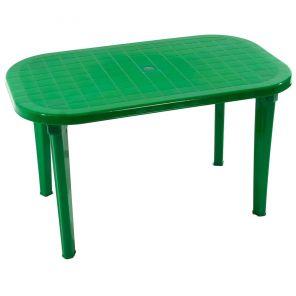 Стол пластиковый овальный