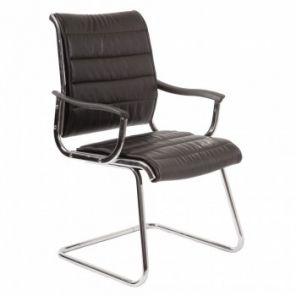 Кресло на полозьях Бюрократ CH-994AV низкая спинка